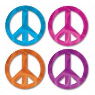 8 Mini décorations Peace