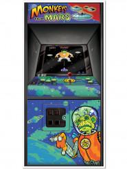 Décoration de porte Arcade Game Années 80