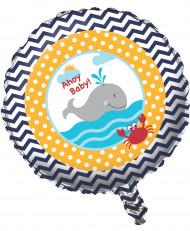 Ballon aluminium Mon petit marin 46 cm