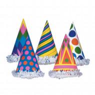 Chapeau de fête coloré en carton