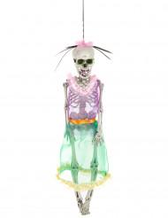 Décoration squelette Femme Dia de los Muertos 40 cm