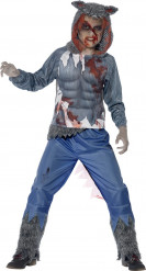 Déguisement loup garou sanglant garçon Halloween