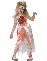 Déguisement zombie princesse fille Halloween