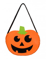 Sac citrouille souriante Halloween