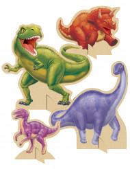 4 Centres de tables Anniversaire Dinosaures
