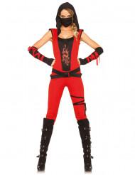 Déguisement ninja combinaison femme