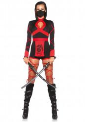 Déguisement ninja combishort femme