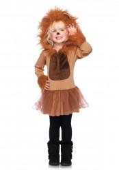 Déguisement lion fille