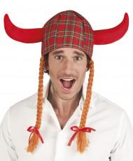 Chapeau écossais viking adulte