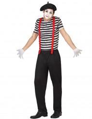 Déguisement mime pantalon homme