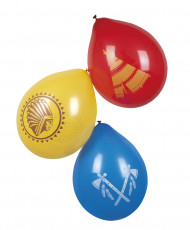 6 Ballons indiens 25 cm