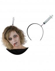 Serre-tête seringue effrayant Halloween
