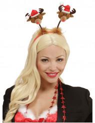 Serre tête petit renne de Noël
