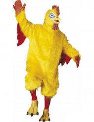 Déguisement mascotte poulet adulte