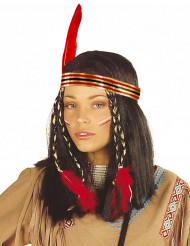 Perruque indienne cheyenne femme