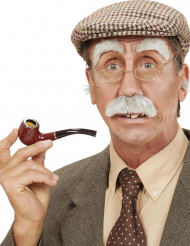 Moustache et sourcils vieillard adulte
