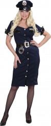 Déguisement policière robe femme
