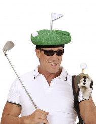 Casquette golfeur verte adulte