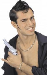 Kit bijoux gangster doré