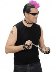 Kit bijoux rocker adulte