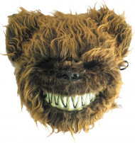 Masque ours effrayant poilu adulte Halloween