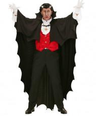 Cape vampire noire 150 cm Halloween