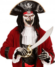 Masque capitaine pirate adulte
