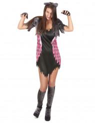Déguisement femme loup garou sexy Halloween