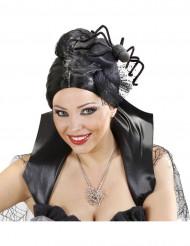 Mini chapeau araignée femme Halloween