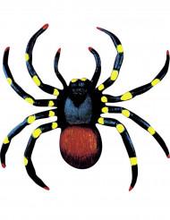 2 Araignées colorées 10 cm Halloween