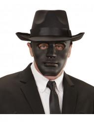 Masque anonyme noir adulte