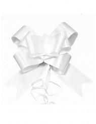4 Nœuds à tirer blanc 15 cm