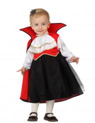 Déguisement vampire bébé fille Halloween