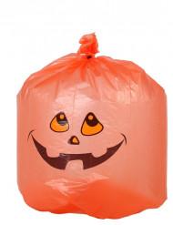10 Sacs poubelle citrouille Halloween