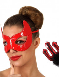 Kit diable rouge Halloween