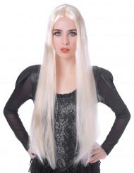 Perruque très longue blonde femme - 75cm