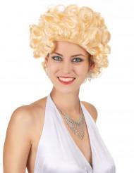 Perruque blonde star de cinéma femme