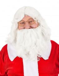Perruque et barbe du père noël - 203g