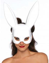 Masque lapin blanc