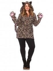 Déguisement léopard femme grande taille