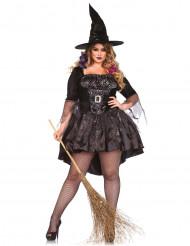 Déguisement sorcière avec chapeau femme