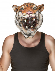Masque latex tigre adulte