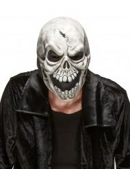 Masque latex crâne effrayant adulte Halloween