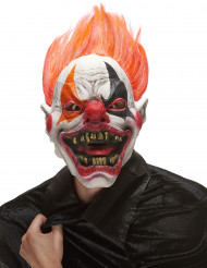 Masque latex clown de l