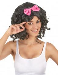 Perruque noire babydoll femme - 146g