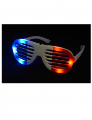 Lunettes à LED supporter France adulte