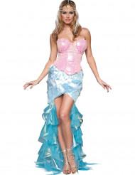 Déguisement Sirène à sequins pour femme - Premium