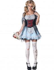 Déguisement Zombie Bavarois pour femme - Premium