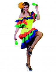 Déguisement danseuse rumba femme