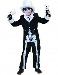 Déguisement squelette chic garçon Halloween